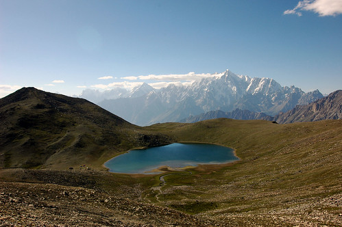 Rush Lake (4700m) - Highest in Pakistan | by windinhishair