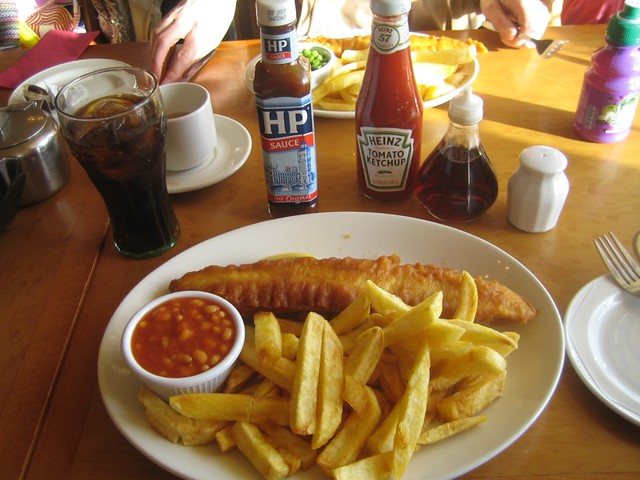 Fish And Chip Restaurant Westexe Tiverton