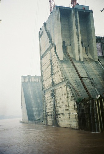 Three Gorges Dam under construction | by Beth M527