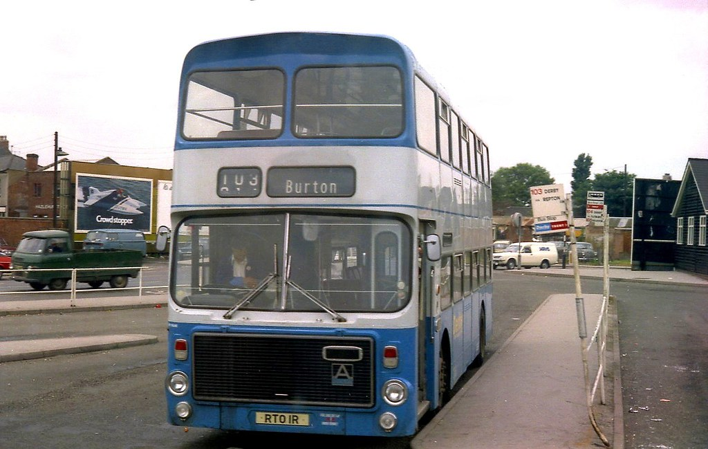 Derby City Transport, Unique Lowheight Volvo Ailsa, Alexan… | Flickr