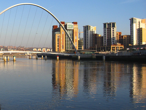 Millennium Eye Bridge and Baltic - Newcastle Gateshead Quayside | by Glen Bowman