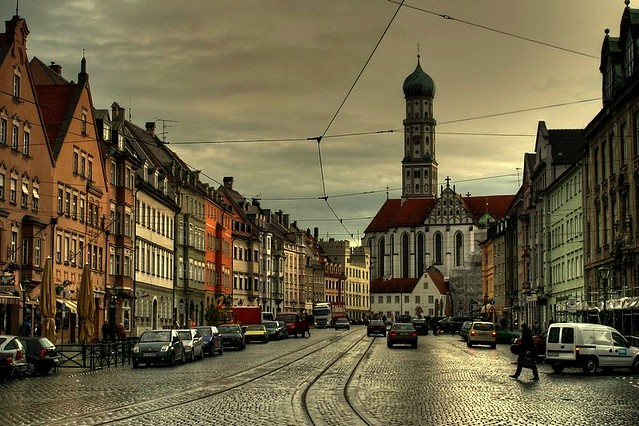 augsburg old town germany maximillian strasse augsburg flickr. Black Bedroom Furniture Sets. Home Design Ideas