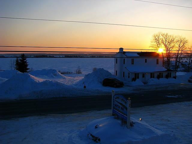 St Agatha Maine Lakeview Restaurant