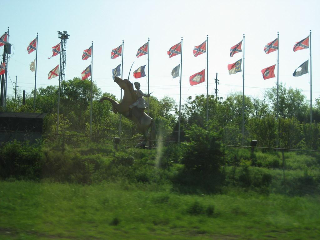Nathan Bedford Forrest Kkk Founder Statue Nashville T
