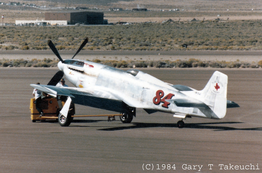 Reno Air Races 1984 North American P 51d Mustang Race 8