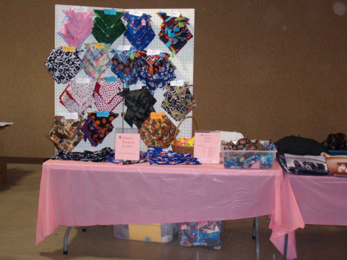 Dog Show Booth This Is Beaner S Bandanas And Bows Set Up