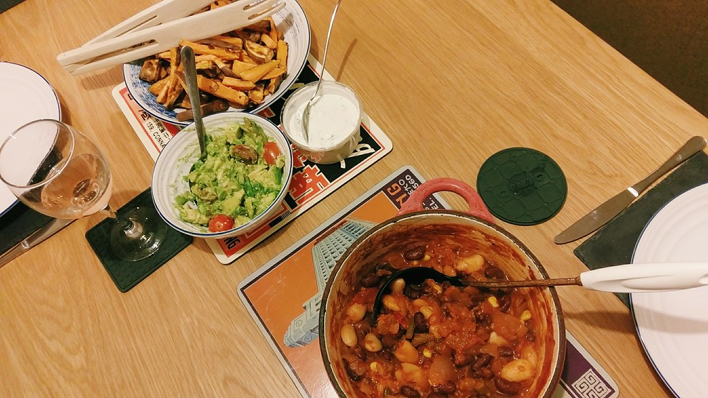 Meat-Free January - Our famed bean chilli