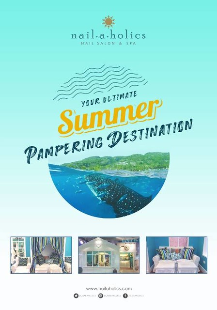 The Ultimate Summer Pampering Destination? Nailaholics Nail Salon and Spa