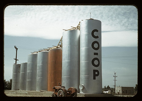 Grain elevators, Caldwell, Idaho  (LOC) | by The Library of Congress