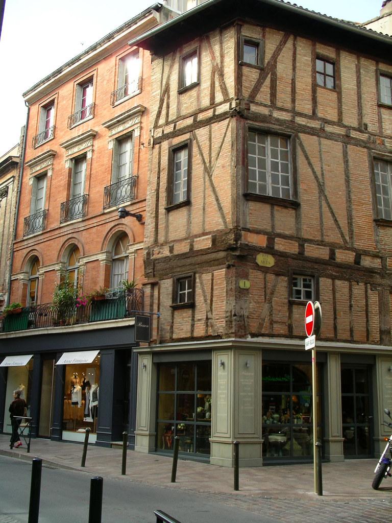Toulouse Haute Garonne France Rue Croix Baragnon Beatrice Bl Flickr