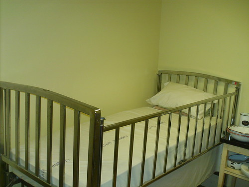 That S A Man Crib These Steel Beds Were Used To Restrain