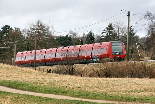 DSB SA9182 S-train from Copenhagen on it's way to Farum - IMG_7701a | by Alfs photodiary