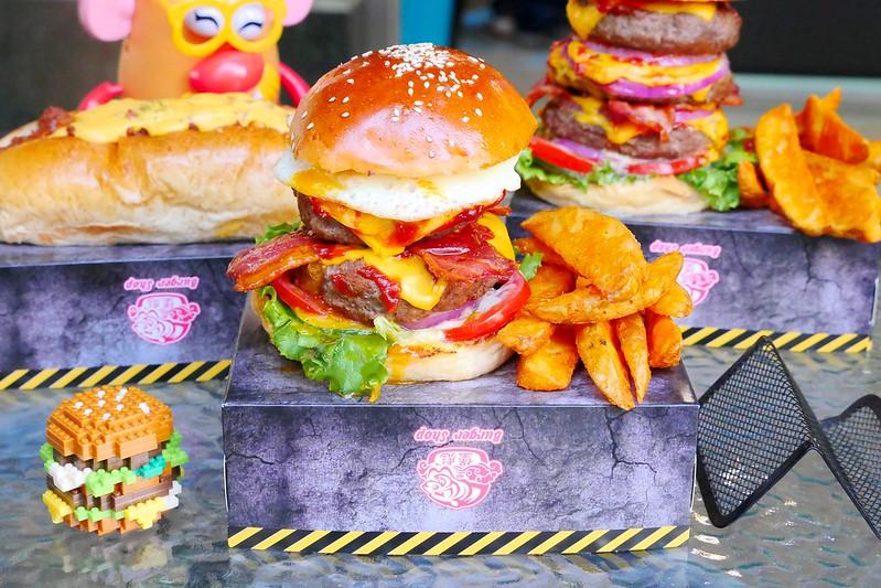 32106141463 be1d5385fe c - 【熱血採訪】堡彪專業美式漢堡:看電影也能享受外帶豪邁工業風漢堡!每層6.5盎司三倍純牛肉起司漢堡真材實料好推薦!