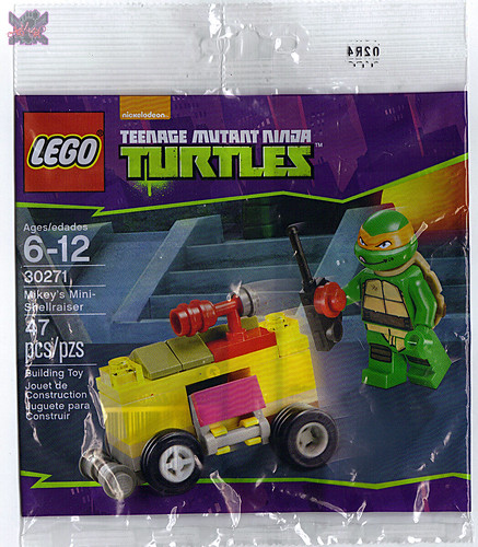 "LEGO TEENAGE MUTANT NINJA TURTLES :: ""Mikey's Mini-Shellraiser"", ..bag i (( 2014 ))"