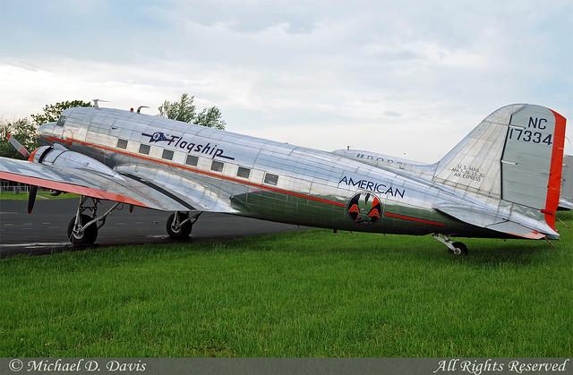American Airlines Flagship Detroit Foundation Douglas Dc