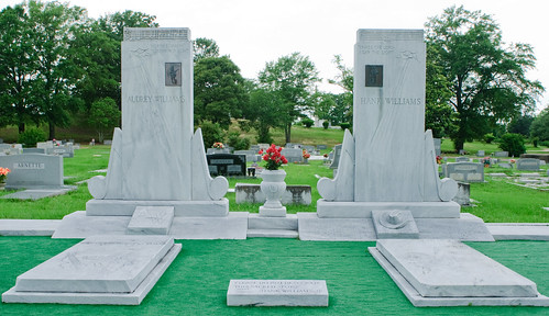Hank Sr. & Audrey Williams Graves | by Alan Fincher