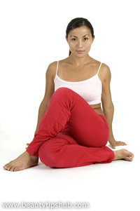 sitting yoga pose  the sitting yoga is a beginners yoga