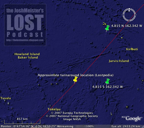 LOST Oceanic Flight 815 And Howland Island