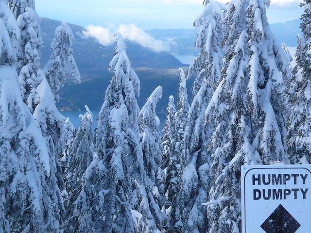 Cypress Mountain Ski Run Vancouver Bc Flickr Photo