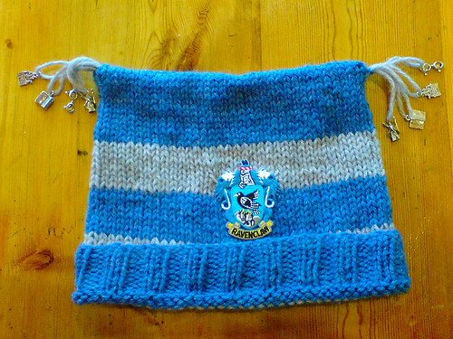 Harry Potter Ravenclaw hat | by Deadly Knitshade