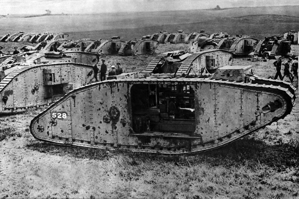 WW1 tanks   Nick J Stone   Flickr