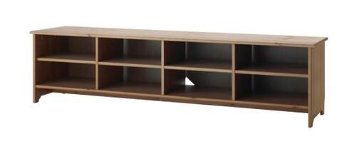 LEKSVIK Storage/ TV bench - IKEA  Product dimensions ...