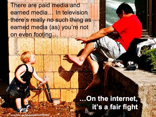 paid vs earned media - on internet is fair fight | by lynetter