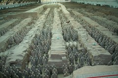 6000 of the 8000 terra cotta soldiers