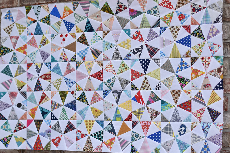 Kaleidoscope of Five Generations Quilt