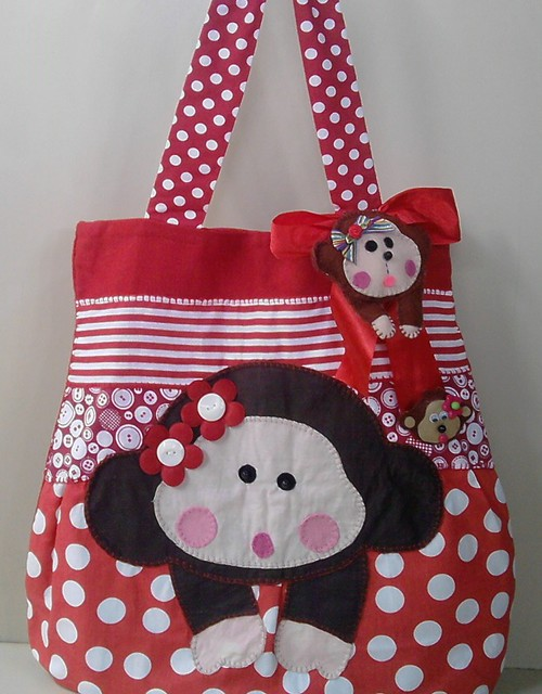 Bolsa de pano macaco bolsas flickr photo sharing - Bolsas para flash ...