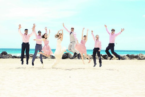 Bridal Party at The Palms Beach | by thepalmshotel