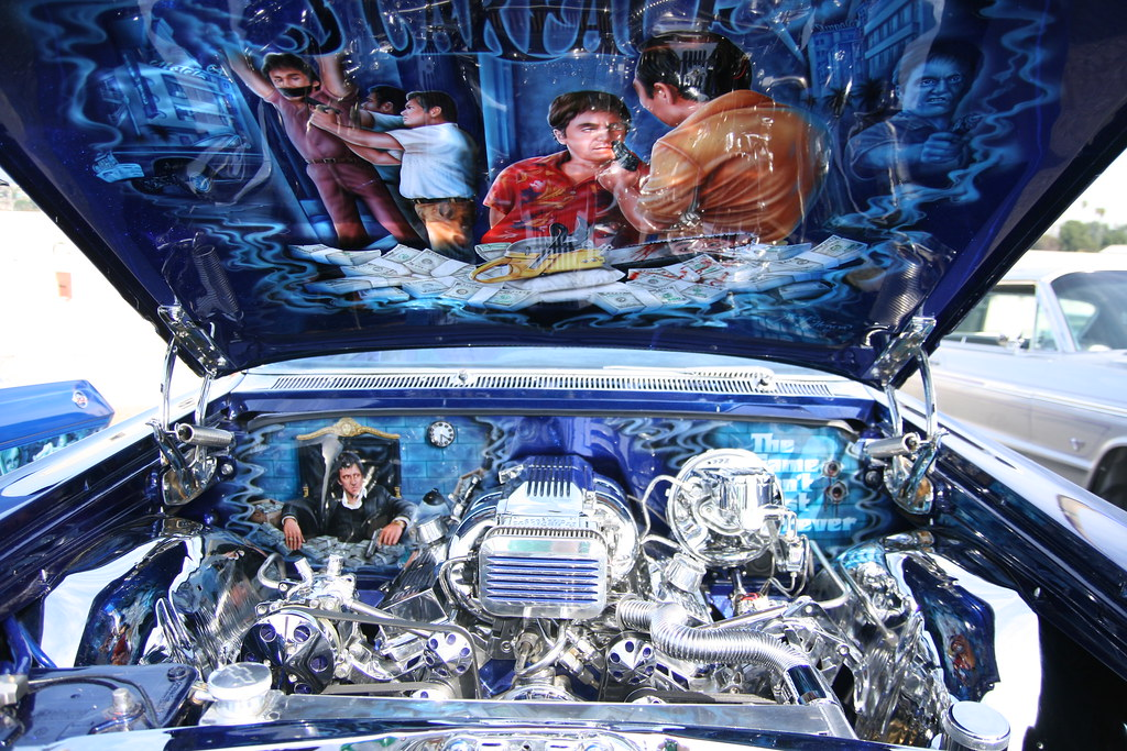 The Car Company >> Scarface Impala Engine Compartment | A trip down to the hist… | Flickr