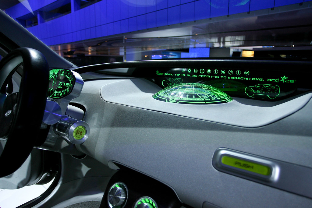 ford explorer america concept 2008 interior view by fordautoshows