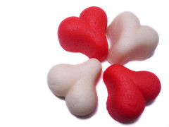 Valentine Marzipan Hearts I | by princess_of_llyr