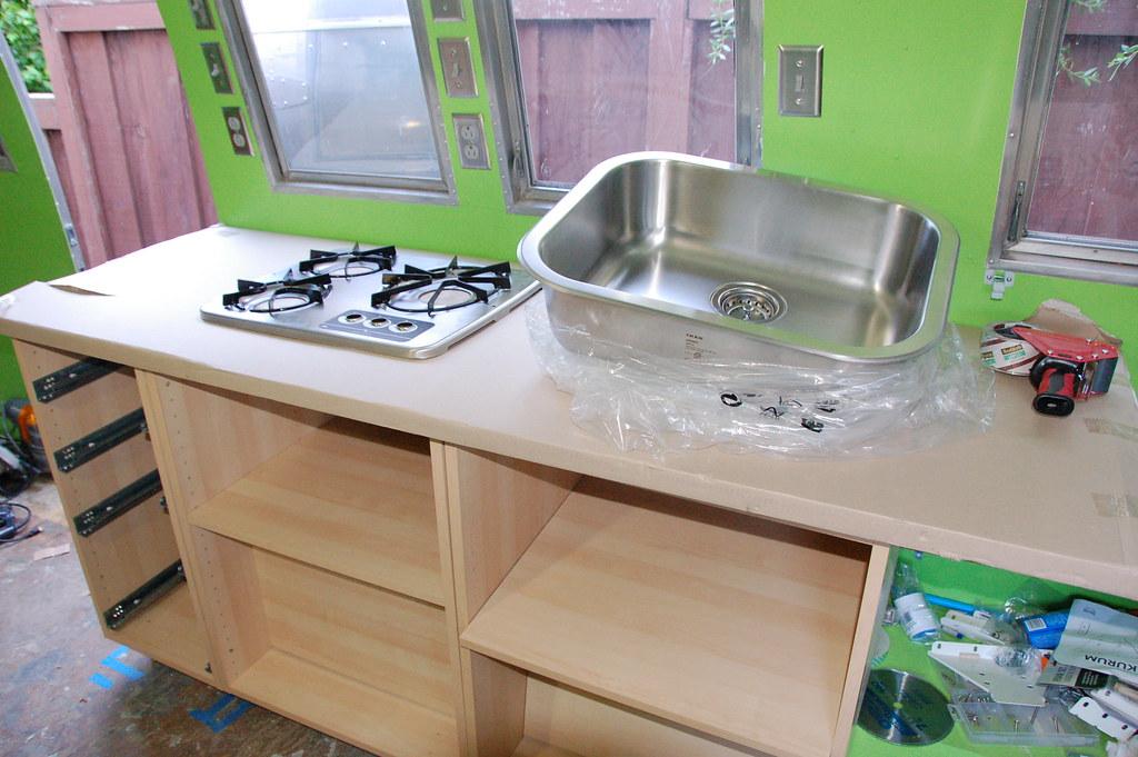Sink Kitchen Cabinet Size