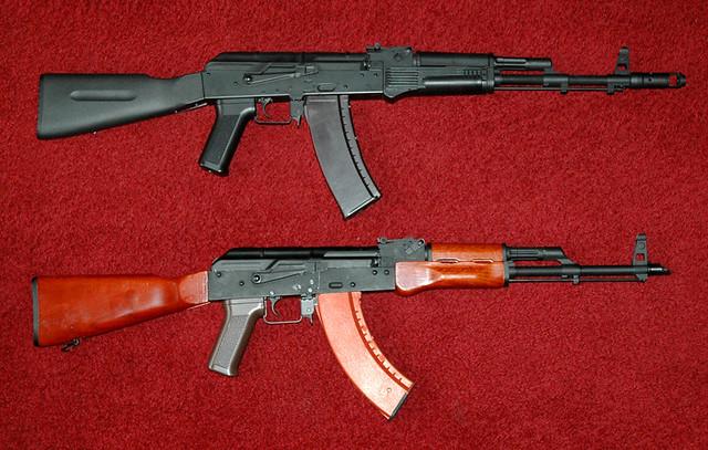 CYMA AK74/AKM comparison | This comparison shot highlights t… | Flickr