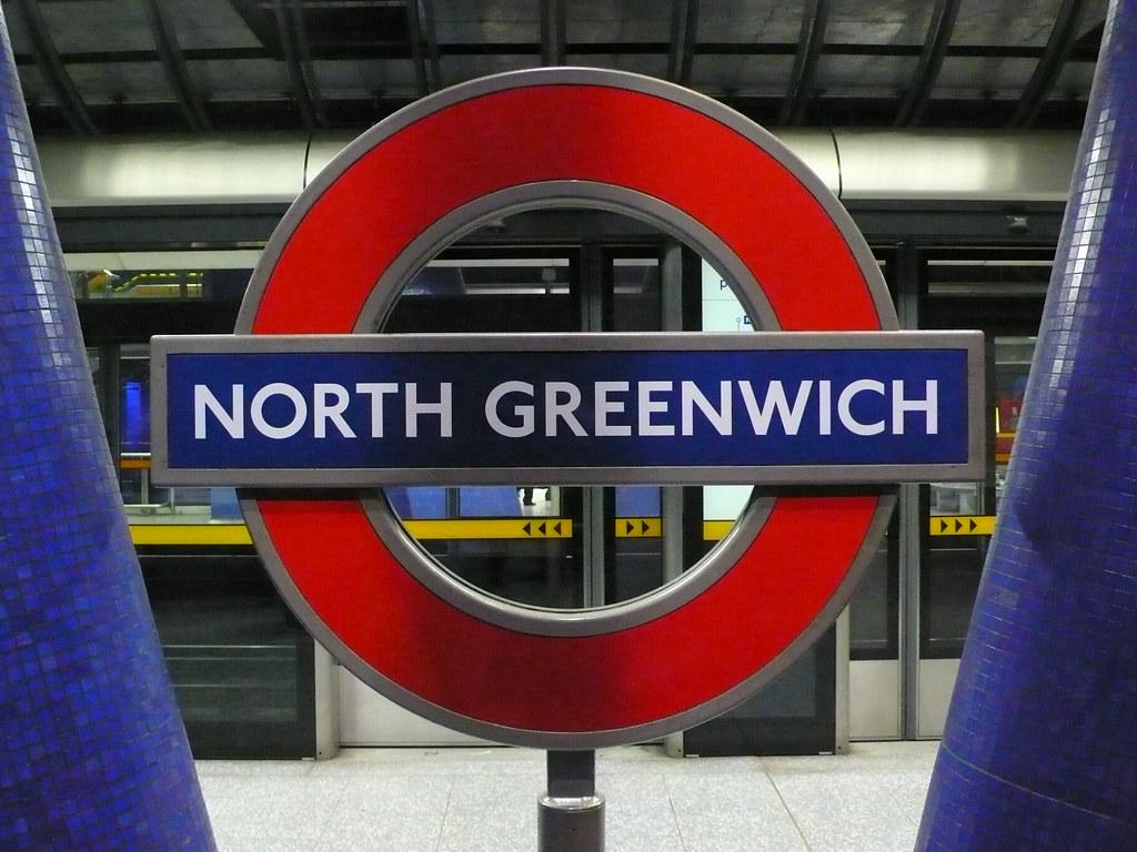 north greenwich tube station ccr 358 flickr. Black Bedroom Furniture Sets. Home Design Ideas