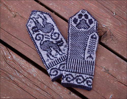 Cat Mittens, FO | by Leigh_M