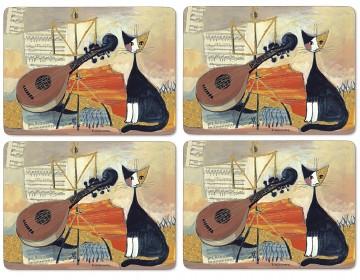 Set de table Musical cats Pimpernel | Set de table Musical c… | Flickr