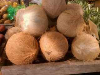 Coconuts at Whole Foods Market in Gaithersburg, MD | by Hail Merry Foods