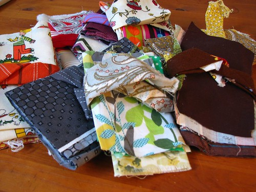patchwork swap loot | by artsy-crafty babe