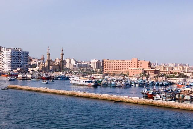 Port said egypt port said is at the entrance to the suez port said egypt by billbl publicscrutiny Gallery
