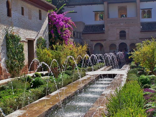 The Palacio de Generalife, Alhambra, Granada, Spain - October 2007 | by SaffyH