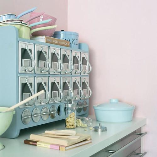 vintage pastel kitchen.jpg | Kitchen from Living etc ...