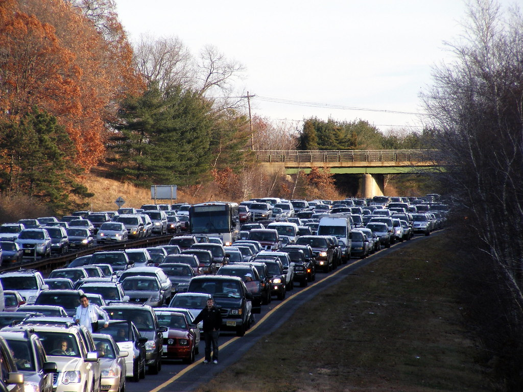 Traffic On The Gsp Ted Kerwin Flickr