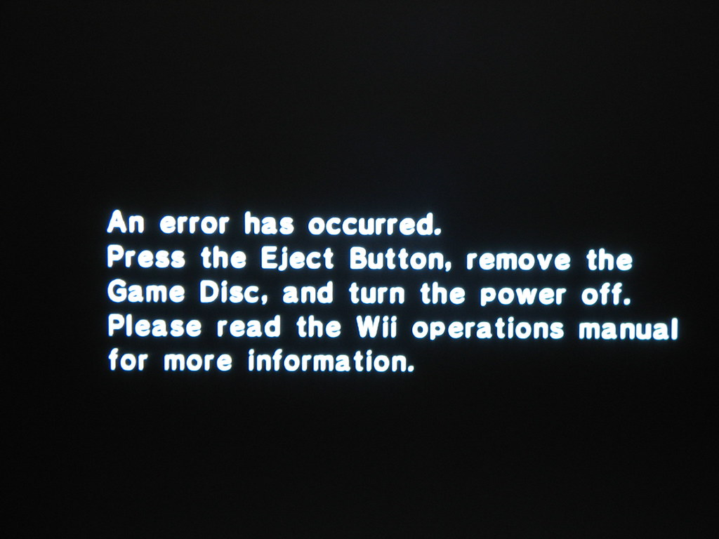 My Wii's graphics are in black and white, how can I fix ...
