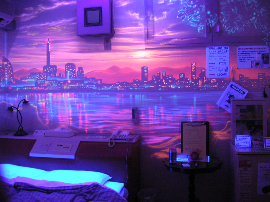 Japanese love hotel london