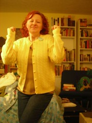 Horrible photo of yellow cardigan | by Rrrrred