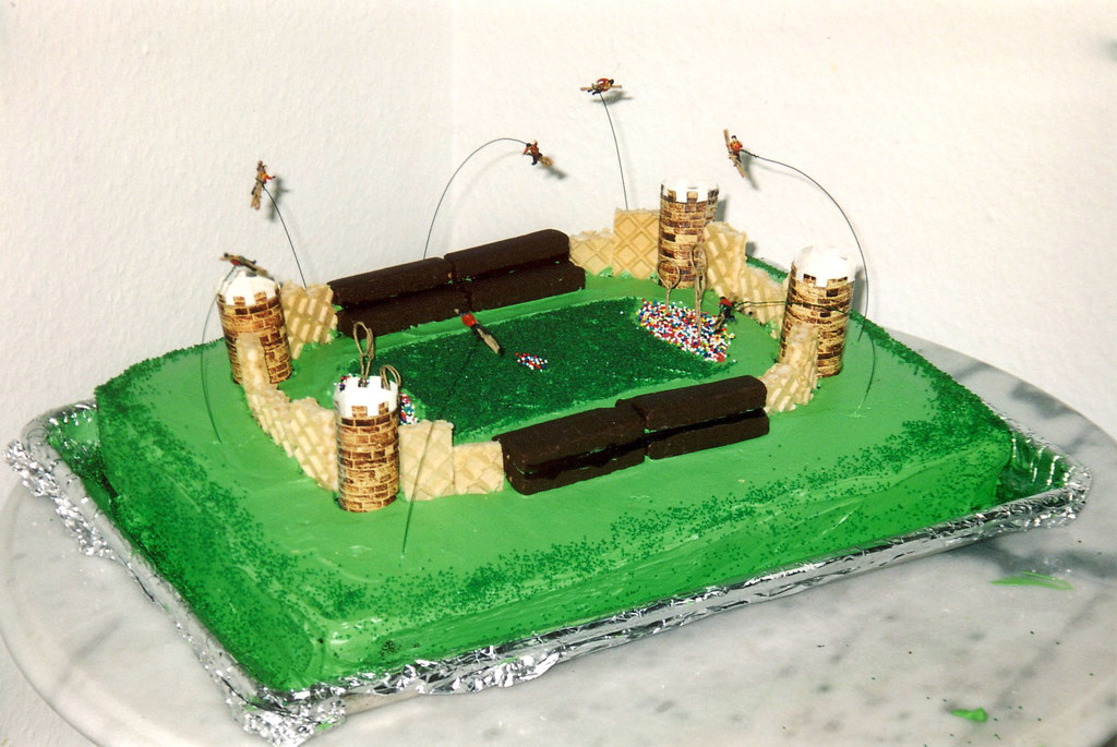 The Quidditch Cake My Mom Constructed This Quidditch