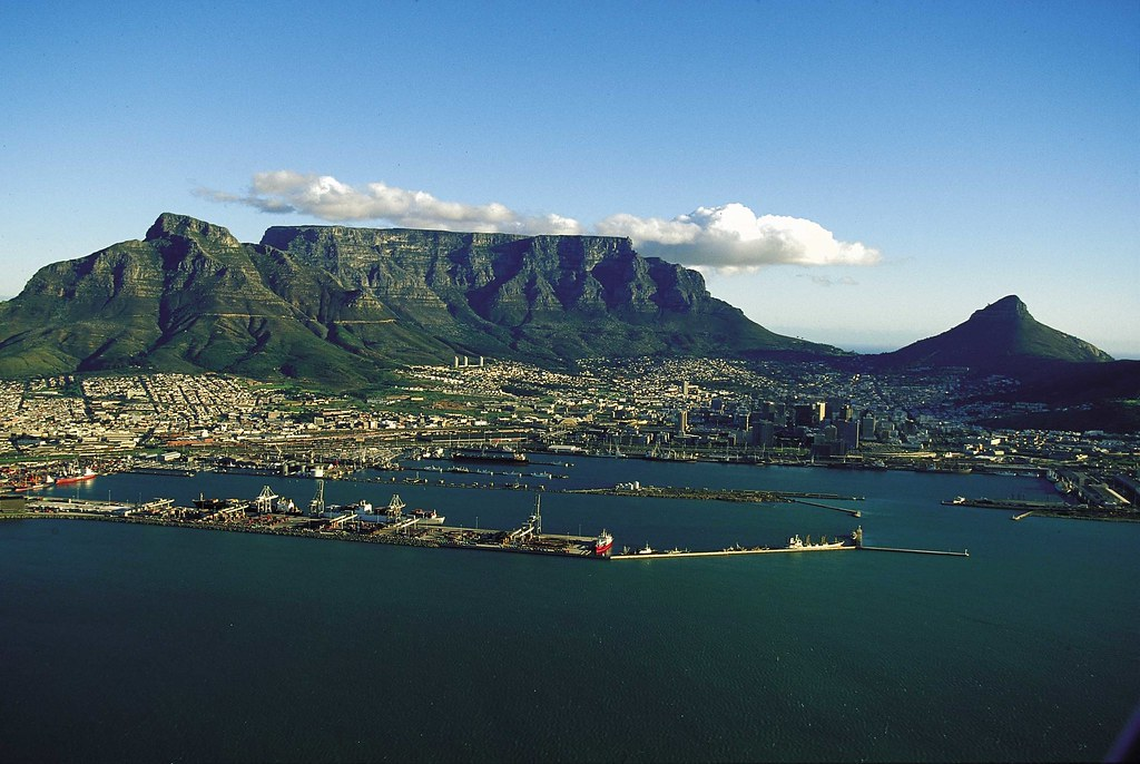 The mother city south africa aerial view of cape town for Cape town south africa travel